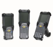 Zebra (Motorola) MC9090-G - Handheld Mobile Computer, RFID, 802.11 a/b/g, Imager, 53 Tasten, Color, 64/128MB, WM 6.1, Bluetooth, DRM Gen 2 only, ETSI 302-208