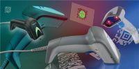 Datalogic Gryphon D4310 - Laserscanner, IBM-Schnittstelle, weiss