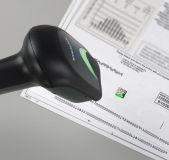 Datalogic Gryphon D4310 - Laserscanner, IBM USB-Kit, schwarz, inkl. Scanner und Anschlußkabel