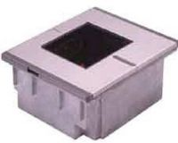 Honeywell MS-7625-41 Horizon - RS232, Standard Glas, Metallabdeckung, weiß inkl. Kabel und NT Omnidirektionaler Einbau-Barcode-Laserscanner Nachfolger vom MS-860i