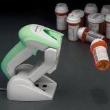 Datalogic Gryphon M4100 - Imager-Funkscanner, desinfektionsmittelbeständiges Gehäuse und Display, weiss, 433 MHZ, Multi-Interface