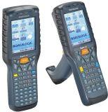 Datalogic Kyman-G 701-901 - Windows CE 5.0 Pistol Grip Mobile Computer, MiniLaser, Green Spot, numerische Tastatur, 802.11b/g CCX V4, Bluetooth, 128MB RAM/128MB Flash