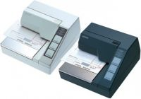 Epson TM-U295-271 - Bon-Nadeldrucker, RS232, weiß, ohne Netzteil, inkl. Anschlußkabel