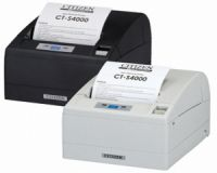 Citizen CT-S4000 - Bondrucker, Centronics/USB, mit Cutter, schwarz, mit Netzteil, inkl. Anschlußkabel USB