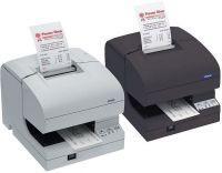 Epson TM-J7000-061 - Tintenstrahldrucker, RS232, schwarz, ohne Netzteil, inkl. Anschlußkabel 2 Stations-Tintenstrahl-Drucker (Bon / Beleg) schwarz