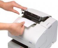 Epson TM-J7000P-011 - Tintenstrahldrucker, Centronics, weiß, ohne Netzteil, inkl. Anschlußkabel