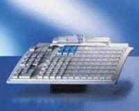 Preh MC-128W/X und 128 x 1ner Tastenkappen **schwarz** - inkl. PS2 Anschlusskabel