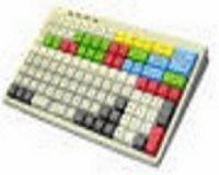 Preh MCI 128 mit 1x1 bestückt inkl. PS2/USB Anschlusskabel **weiss** ohne Servicebuchse