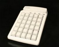 Preh MCI 30 bestückt mit 1er - Tasten inkl. MKL Spur 1,2,3, Anschlußkabel USB, Adapter PS2 wird mitgeliefert **beige**