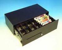 Cash Bases Kassenlade CashPlus Micro - 1 Scheckschlitz, B453mmxT225mmxH130mm Epson-Anschluss 24 Volt