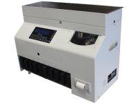 CashConcepts CCE 416-8 - Münzzähler für Zählung und Sortierung von Euro-Münzen mit Falschgelderkennung