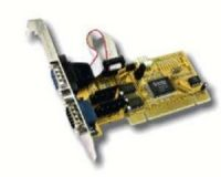 ART development ADD-ON Card PCI 2xSER 32o.64 BIT DOS/Win9.x/NT4/2000/XP +5 o.+12V auf PIN9