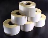 ART development Etikettenrolle Thermodirekt, 78 x 48mm, Kern 25, ca. 560 Etiketten/Rolle, permanent außen gewickelt