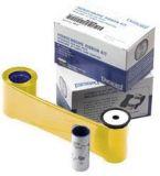 Datacard Monochrome-Farbband, gold, 1500 Drucke für SD260 KIT inkl. Farbband, Reinigungskarte und Reinigungsrolle