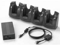 Zebra (Motorola) 4 Slot Ethernet Cradle (includes Cradle, Power supply, DC Power Cable)