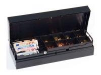 ANKER Universal UCC - Geldkassette, 8 Münz- und 5 Scheinfächer, anthrazit, 24V, ohne Schloss, inkl. Coin Cups Ohne Einsatz und Anschlusskabel