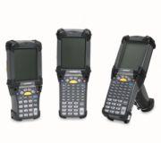 Zebra (Motorola) MC9090-G 1D SE1224 COLOR MC90XX, 1D, WLAN, Bluetooth, 43 key A, Gun, 802.11a / g, colour Touchdisplay, 64 MB RAM / 64 MB ROM, WinCE 5.0, 1224 Standard Range Scan Engine, IP64