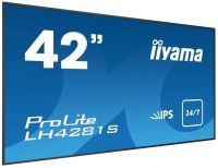iiyama ProLite LH4281S, 24/7, 106,7cm (42), Full HD, schwarz