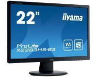 iiyama ProLite X2283HS-B3, 54,6cm (21,5), Full HD, schwarz