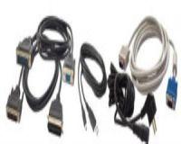 USB Anschlusskabel, schwarz